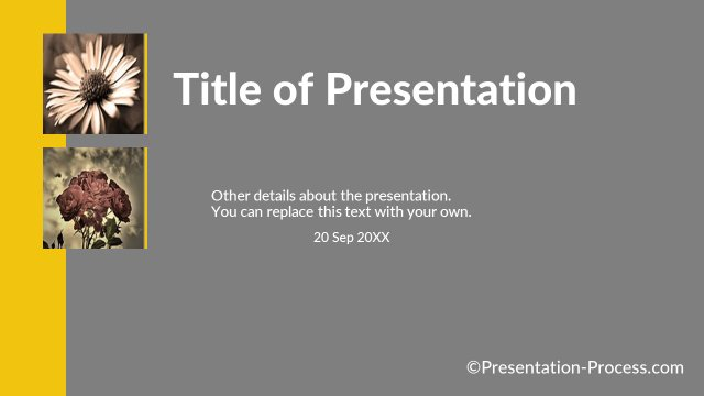 Title Slide with 2 images