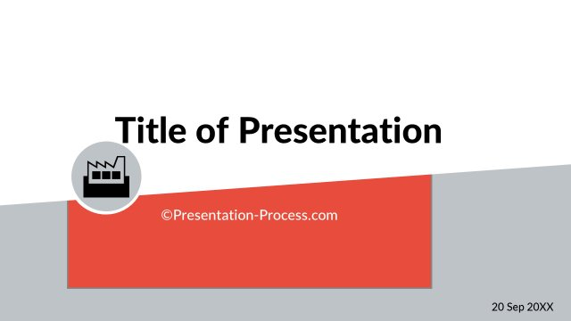 Title Slide with icon