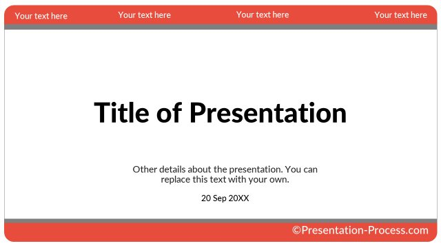 Card Style Title Slide