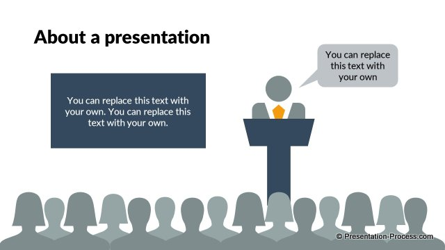 About a presentation