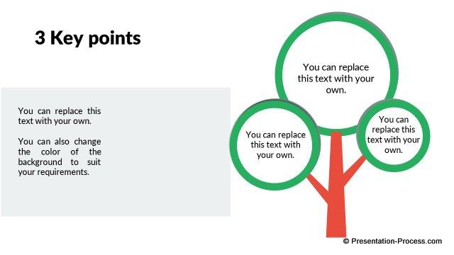 Flat design templates powerpoint tree toneelgroepblik Image collections