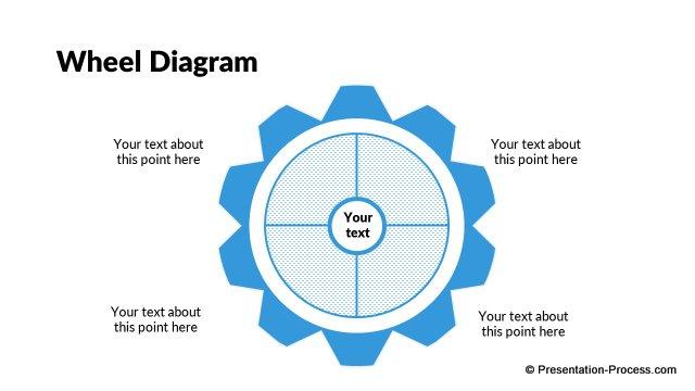 Pptx Flat Design Wheel