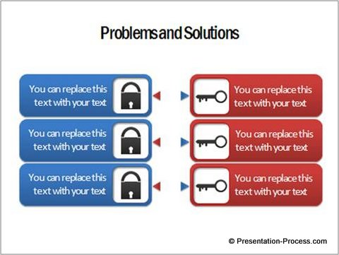 Useful powerpoint concepts lock and key diagram problem solution concept maxwellsz