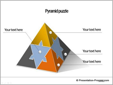 pyramid puzzle shape  from CEO Pack 1
