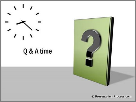 Question Time PowerPoint Diagram