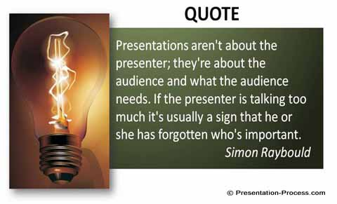 Creative ways of representing powerpoint quotes talk less quote toneelgroepblik Images