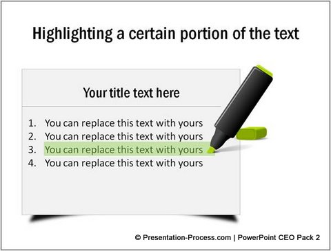 Highlight text using Rectangle