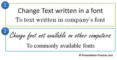 Replace Fonts in Your Entire PowerPoint File