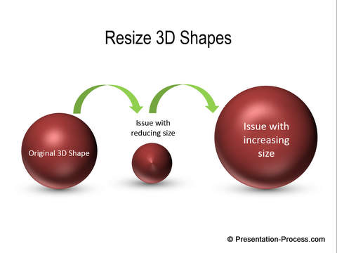 How to Resize 3D Shapes in PowerPoint