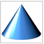 3D PowerPoint Cone
