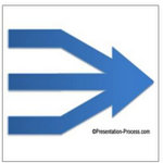 Branched PowerPoint Arrow