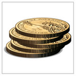 Stacked Coins in PowerPoint