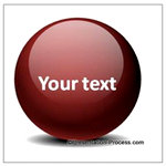 Glossy Ball In PowerPoint