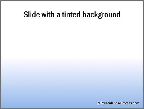 Shaded PowerPoint Background