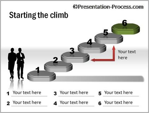 Steps to Reach the Top Graphic CEO Pack 2