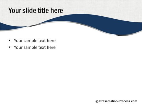 powerpoint curved design template