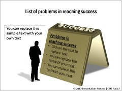 Problems in Achieving Success