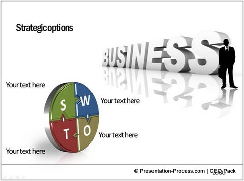 SWOT Analysis Template From PowerPoint CEO Pack