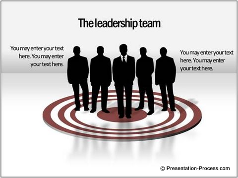 Target Leadership PowerPoint Template from CEO Pack 1