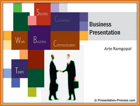 PowerPoint Title Backgrounds Design