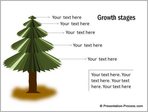 Growth Concept PowerPoint Diagram template