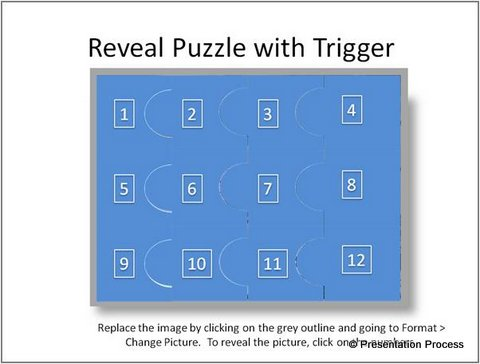 Puzzle with Trigger Animation