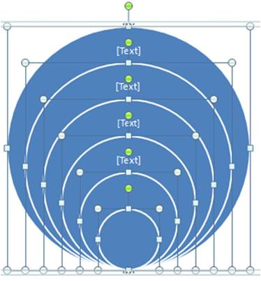 1 simple trick to create concentric circles super fast in powerpoint ungroup graphic ccuart Images