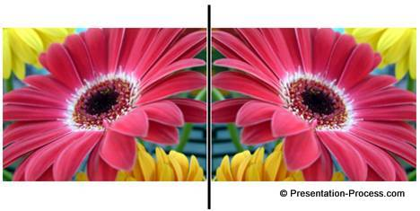 how to create mirror image