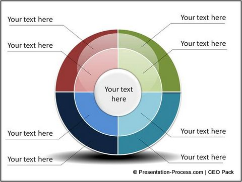 4 simple steps to create this powerpoint wheel diagram powerpoint wheel diagram tutorial ccuart Gallery