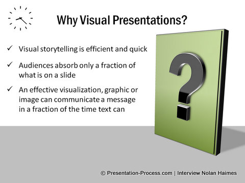Why Create visual presentations