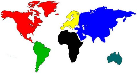 World Map in PowerPoint