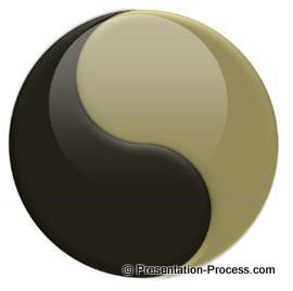 How to create glossy yin yang symbol in powerpoint updated yin yang in powerpoint toneelgroepblik Image collections